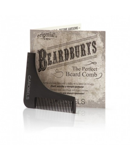 Beardburys The Perfect Beard Comb - Barzdos formavimo šukos