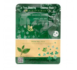 Ja Yeon Mapping Green Tea Essence Mask