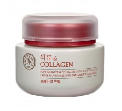 The Face Shop Pomegranate And Collagen Volume Lifting Cream 100ml
