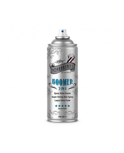 Beardburys Boomer Extra-Strong - Plaukų lakas 2in1 400ml