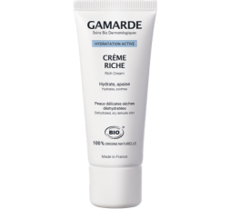 Gamarde Rich Cream - Natural Moisturizing Face Cream For Dry And Sensitive Face Cream 40ml