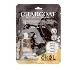 Ekel Ultra Hydrating Essence Mask Charcoal 25g