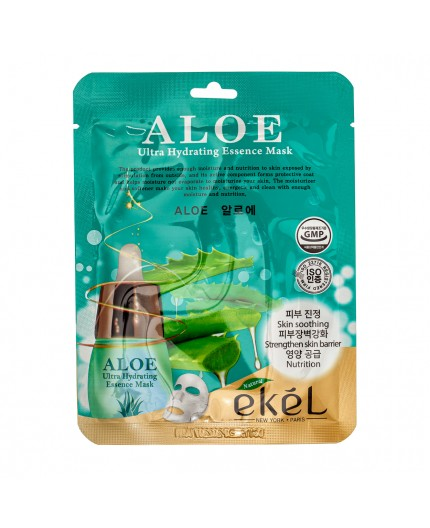 Ekel Ultra Hydrating Essence Mask Aloe 25g