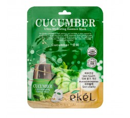 Ekel Ultra Hydrating Essence Mask Cucumber 25g