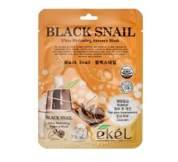 Ekel Ultra Hydrating Essence Mask Black Snail 25g