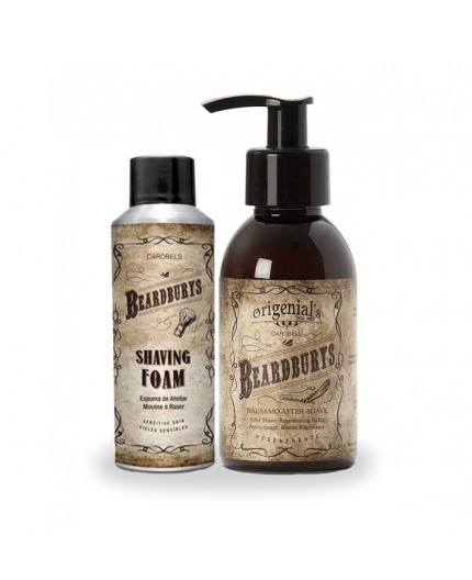 Beardburys Beard Set - shaving foam and after-shave balm set