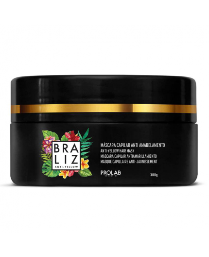 Braliz Anti-Yellow Hair Mask - Plaukų kaukė 500 g.